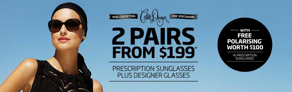 Collette Dinnigan Prescription Sunglasses